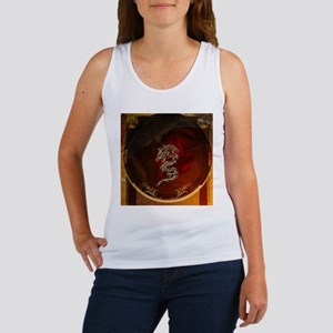 Awesome dragon, tribal design Tank Top