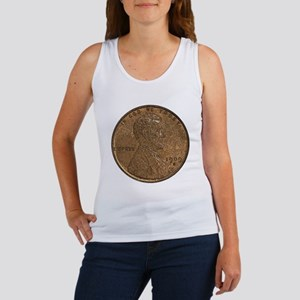 Lincoln Wheat Double-Sided Women's Tank Top