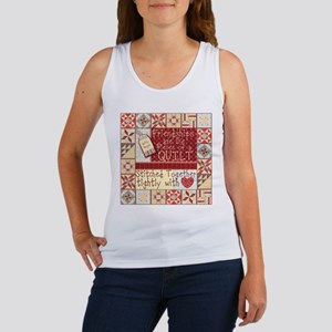 Friendships are Like Quilts Tank Top