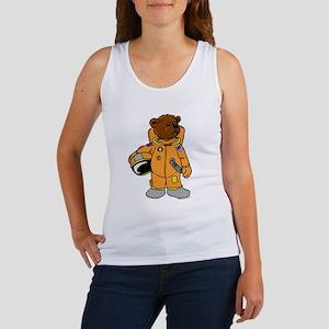 Buzz the Astronaut Bear Women's Tank Top