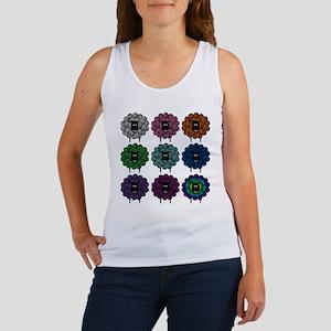 A Rainbow of Sheep Women's Tank Top