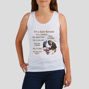 Saint Bernard FAQ Women's Tank Top
