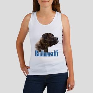 Bullmastiff(brindle)Name Women's Tank Top