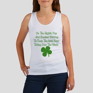 Irish Whiskey Women's Tank Top