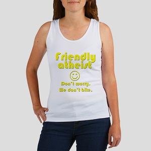 friendly-atheist-nobite-dark Tank Top