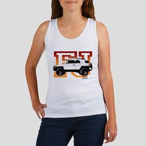 FJ Cruiser Red-Orange Women's Tank Top