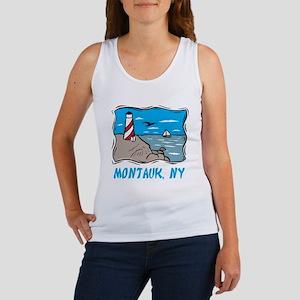 Montauk, NY Women's Tank Top