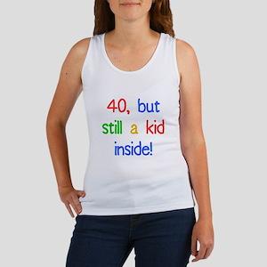 Fun 40th Birthday Humor Women's Tank Top