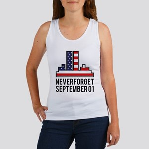 9 11 Never Forget Women's Tank Top
