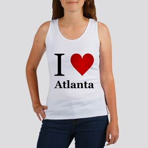 I Love Atlanta Women's Tank Top