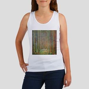 Gustav Klimt Pine Forest Women's Tank Top