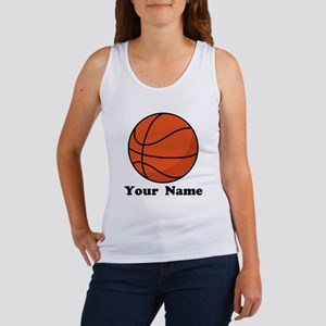 Personalized Basketball Women's Tank Top
