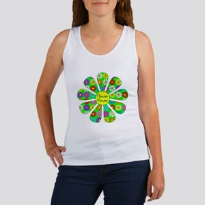Cool Flower Power Women's Tank Top