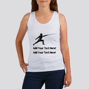 Personalize It, Fencing Tank Top