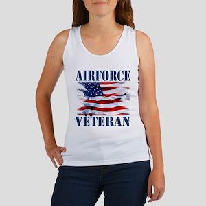 Airforce Veteran copy Tank Top