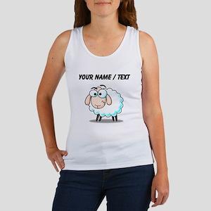 Custom Cartoon Sheep Tank Top