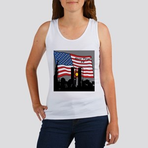 Never Forget 9-11 Tank Top