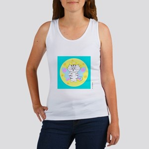 ITTY BITTY ANGEL KITTY (Yellow Orb Blue Box) Women