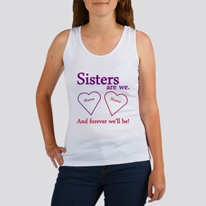 Sisters Are We Personalize Women's Tank Top