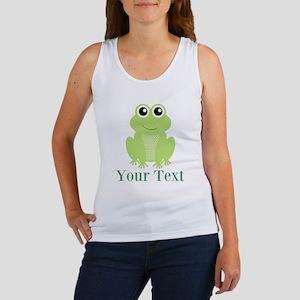 Personalizable Green Frog Tank Top