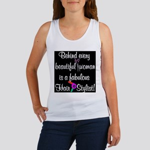 INSPIRING HAIR STYLIST Women's Tank Top