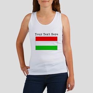 Custom Hungary Flag Tank Top