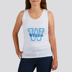 CUSTOM First Initial and Name Tank Top