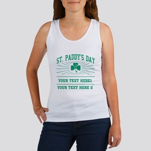 St Paddy's day [editable] Women's Tank Top