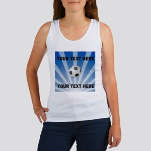 Personalized Soccer Women's Tank Top