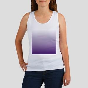 modern purple ombre Tank Top