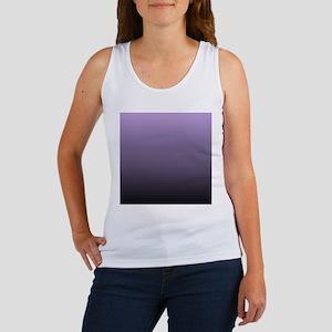 black purple ombre Tank Top