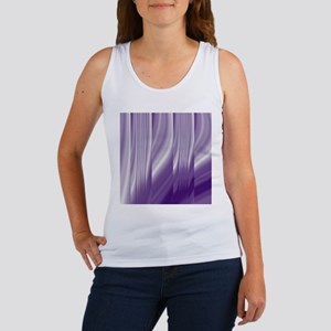 abstract purple grey Tank Top