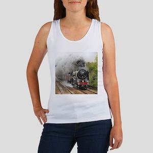locomotive train engine 2 Tank Top