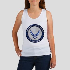 USAF Motto Aim High Tank Top