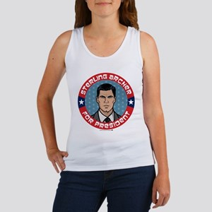 Archer Sterling Archer for Presid Women's Tank Top