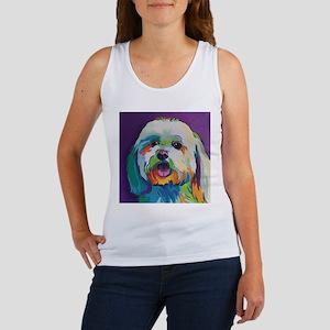 Dash the Pop Art Dog Tank Top