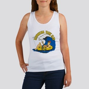CARPINTERIA YACHT CLUB Logo 9x9 Women's Tank Top