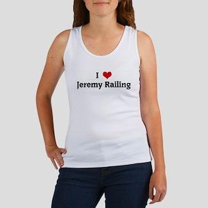 I Love Jeremy Railing Women's Tank Top