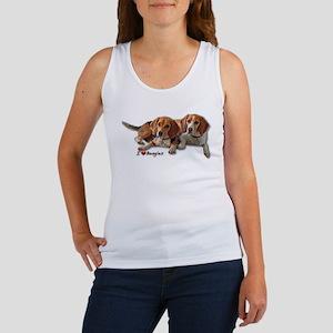 Two Beagles Women's Tank Top