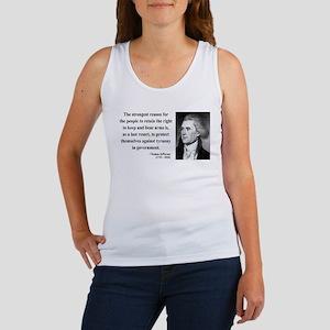 Thomas Jefferson 7 Women's Tank Top