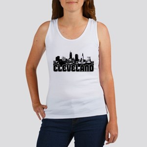 Cleveland Skyline Women's Tank Top
