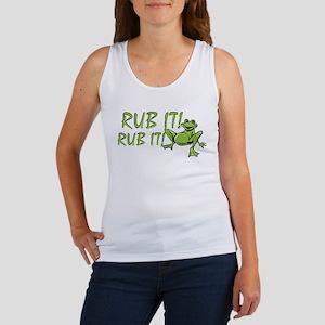 Rub it Frog Women's Tank Top