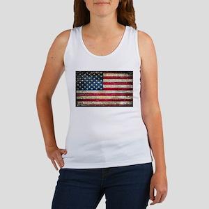 Faded American Flag Tank Top