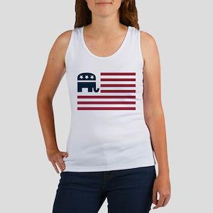 GOP Flag Women's Tank Top