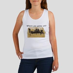 NBlk Where RU Women's Tank Top
