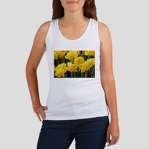 Daffodil flowers in bloom Tank Top