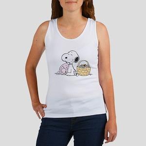 Beagle and Bunny Women's Tank Top