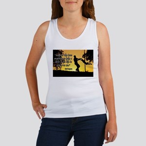 Mr. Rogers Child Hero Quote Women's Tank Top