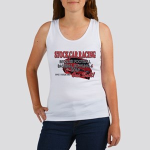 Stock Car Auto Racing Women's Tank Top