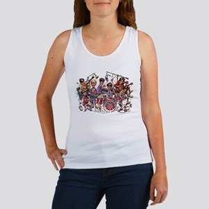 Cowsill 1960s Cartoon Women's Tank Top
